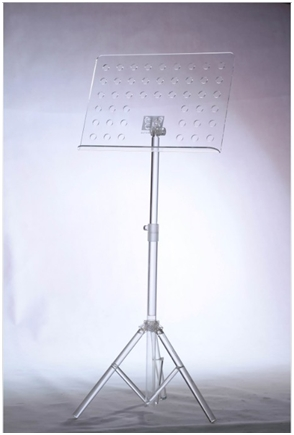Acrylic Music Stand With Led Light Musical Instrument